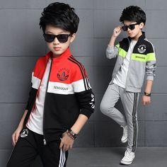 $22.10 (Buy here: https://alitems.com/g/1e8d114494ebda23ff8b16525dc3e8/?i=5&ulp=https%3A%2F%2Fwww.aliexpress.com%2Fitem%2FBoys-Clothing-Sets-Teenagers-Long-Sleeve-Jacket-Pants-suits-Children-Sweatshirts-Fashion-School-zipper-Sets-Autumn%2F32722139571.html ) Boys Clothing Sets Teenagers Long Sleeve Jacket Pants suits Children Sweatshirts Fashion School zipper Sets Autumn Spring for just $22.10