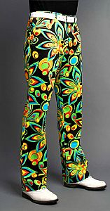 LoudMouth Golf mens pants in Shagadelic Black pattern, size 26 inch to 50 inch waist. Golf 6, Mens Golf, Disc Golf, Golf Attire, Golf Outfit, Loudmouth Golf Pants, Crazy Golf, Golf Fashion, Fashion Suits