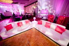 Furniture, lighting, drape, linens and lots of sparkle! Quince - Super Sweet 15 Birthday Party; Fashion Themed event - A Flair for Affairs® | Encore Creations | © errolcolon.net