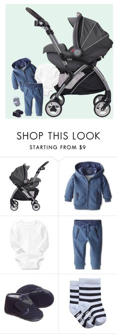 """""""Baby"""" by fiction-928 ❤ liked on Polyvore featuring moda, Graco, Old Navy e Giorgio Armani"""