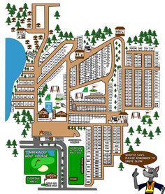 Bethpage Camp Resort Site Map Campground Maps Bethpage