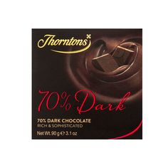 70% Deliciously Dark Chocolate Block - May contain