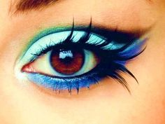 blues, flutter lashes