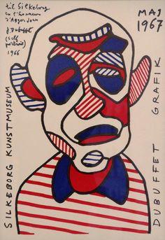 Jean Dubuffet - 22 juin au 2 nov 2014 - Aux Capucins - Landerneau // Des affiches