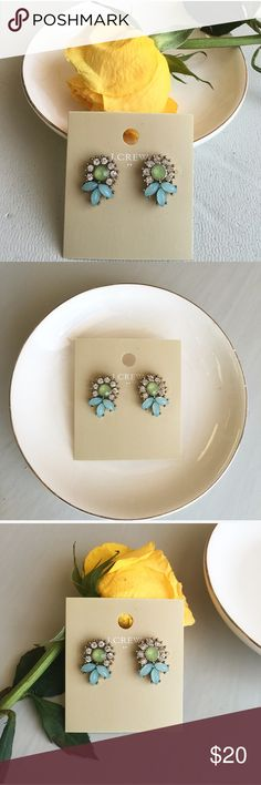 J. Crew factory neon studs J.Crew factory neon studs. New with tags. Size of studs are smaller than a dime. J. Crew Jewelry Earrings