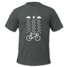 All Seasons Cyclist T-Shirt | Spreadshirt | ID: 25404597