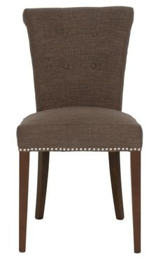 "Luxe 26"" Counter Stool w/ Silver Nailheads"