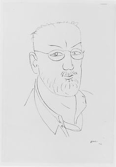 Self-Portrait / Henri Matisse, 1944