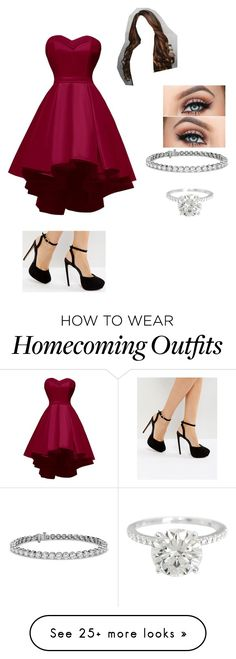 """""""Untitled #729"""" by kjp456 on Polyvore featuring ASOS, Ken Paves and Blue Nile"""