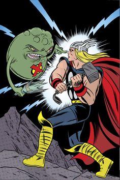 X-Statix Cover: Thor and Doop Marvel Comics Poster - 30 x 46 cm Comic Book Artists, Comic Book Characters, Comic Artist, Marvel Characters, Comic Books Art, Marvel Dc, Marvel Comics, Marvel Comic Universe, Marvel Heroes