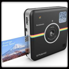 The Polaroid Socialmatic is a remarkably innovative and exciting camera, designed to empower people all over the world to instantly capture, print and share life's moments in ways never before possible! Discover more tech inventions at Crazy-Inventions.com