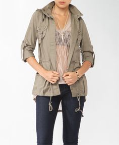 Forever 21 is the authority on fashion & the go-to retailer for the latest trends, styles & the hottest deals. Shop dresses, tops, tees, leggings & more! Anorak Jacket, Forever21, New Orleans, Military Jacket, Latest Trends, Leggings, Tees, Jackets, Shopping