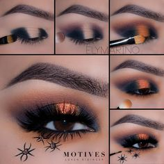 Gorgeous makeup tips. Eye Makeup Steps, Makeup Eye Looks, Eye Makeup Art, Skin Makeup, Eyeshadow Makeup, Makeup Tips, Makeup Ideas, Makeup Tutorials, Eyeshadows