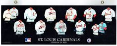 Cardinals Jersey hist. RARE LAMINATED 1st edition SALESMAN SAMPLE (MNT)   #MapleLeafProductions #StLouisCardinals Football Cards, Baseball Cards, Cardinals Jersey, Baseball Uniforms, Sports Magazine, Vintage Football, Medical Equipment, St Louis Cardinals, Los Angeles Dodgers