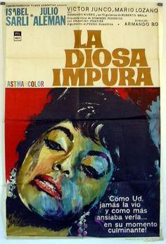 La Diosa Impura #film #poster