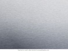 Metal texture photoshop tutorial