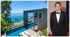 Matthew Perry Lists Oceanside Malibu Home Matthew Perry Malibu Home - Celebrity Homes For Sale - EVE Celebrity Homes For Sale, Celebrity Houses, Matthew Perry, Pool Porch, Malibu Homes, Backyard Plan, Property Investor, Spanish Style, Elle Decor