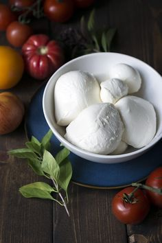 Definitely a labor of love, making this homemade mozzarella cheese. This will give you bragging rights next time it's your turn to bring something to the potluck.