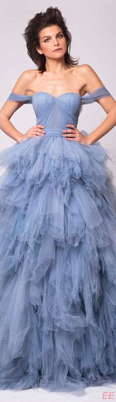 Ideas For Bridal Shoes Blue Spring 2016 Event Dresses, Wedding Dresses, Blue Bridal Shoes, Fairytale Fashion, Zeina, Fashion Week 2016, Couture Dresses, Beautiful Gowns, Summer 2016