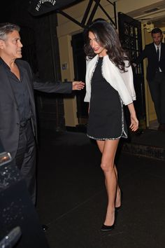 Amal Clooney in Giambattista Valli. Find out where she wore the outfit too.