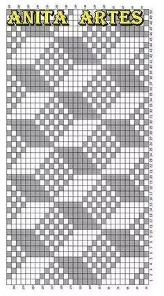 Trendy Ideas For Crochet Patterns Tapestry Knitting Charts Tapestry Crochet Patterns, Bead Loom Patterns, Weaving Patterns, Cross Stitch Patterns, Knitting Charts, Knitting Stitches, Knitting Patterns, Needlepoint Stitches, Knitting Yarn