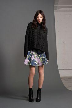 Finding great ways to wear a chunky knit via Rag & Bone Resort 2013 -Courtney S.