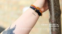 intention temporary tattoos | Jess Lively