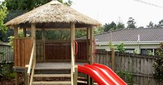 Brustics NZ Tropical Playhouses - Natural products bring nature back to the playground