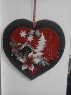 Decorazioni Natalizie In Feltro Pinterest.1011 Fantastiche Immagini Su Feltro Natale Nel 2019 Artigianato