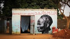 Street art in Senegal by YZ