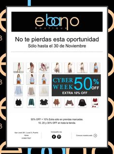 Cyber Week Fashion