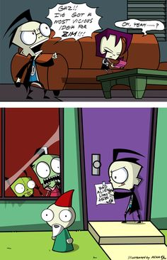 A Note For ZIM by Zootch.deviantart.com on @deviantART