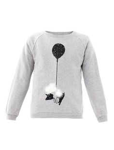 Lucas Pig On A Balloon Sweatshirt - Lyst