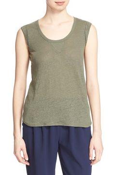 JOIE 'Shakia' Linen Tank. #joie #cloth #