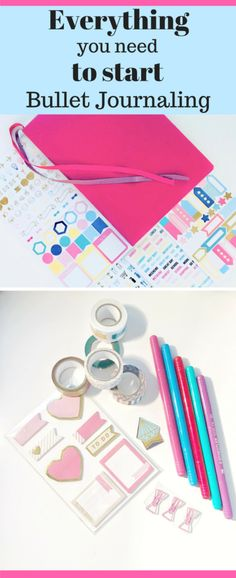 Find out everything you need and need to know to create your bullet journal!