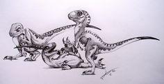 """Mark """"Crash"""" McCreery art.. designer of JP dinosaurs :) !!!!!"""