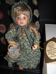 ANRI Wood Doll Emily NWT In Original Box. New, never used. Retired