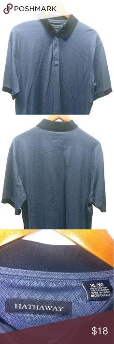 Hathaway textured Polo shirt Cotton, short sleeved Hathaway Shirts Polos