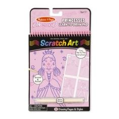 On the Go Scratch Art Learn-to-Draw Pad - Princesses #9144 by Melissa & Doug, from Eliza Henry in Archbold, Ohio.