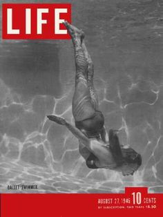 """I bought this issue for the """"ballet swimmers"""" and then realized it had the Broadway KISS in it.  Score.  @Amy Banfield"""