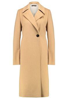 Bestill Strenesse CARINA - Kåpe / Frakk - camel for kr 8595,00 (29.11.16) med gratis frakt på Zalando.no Mantel Camel, Carina, Duster Coat, How To Wear, Jackets, Fashion, Classic, Down Jackets, Moda