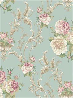 wallpaperstogo.com WTG-131062 York Traditional Wallpaper