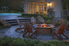 love the fire pit area in addition to the pool :)
