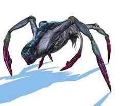 Kikimora robotnica.  Wynurzający się z ziemi niewielki potwór przypominający pająka. W walce pluje kwasem gdy tylko poczuje się zagrożona. Pomimo że są ślepe, wyczuwają wstrząsy i zapachy, a z innymi kikimorami kontaktują się przez zmysł węchu. Rzadko opuszczają kolonie, chyba że w poszukiwaniu pożywienia.