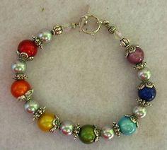 Silver Chakra Bracelet