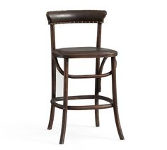 Lucas Barstool, Counter Height, Black At Pottery Barn - Furniture - Bar & Counter Stools Old Chairs, Eames Chairs, Dining Chairs, High Chairs, Kitchen Furniture, Bar Counter, Counter Stools, Bar Stools, Pottery Barn