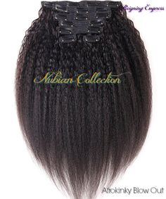 Cambodian AfroKinky Blow Out Clip Ins