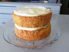 I have used this recipe for about 10 years. It's light as a feather and has never failed yet. I have also given it to numerous friends and as far as I know they have never had a flop either. Sponge Recipe, Sponge Cake Recipes, Light Sponge Cake Recipe, Round Cake Pans, Round Cakes, Cupcakes, Moist Cakes, Savoury Cake, Baking Recipes