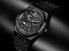 Blacked-Out Audemars.