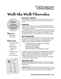 Walk the Walk Charades - An Adverb Game | Parents | Scholastic.com